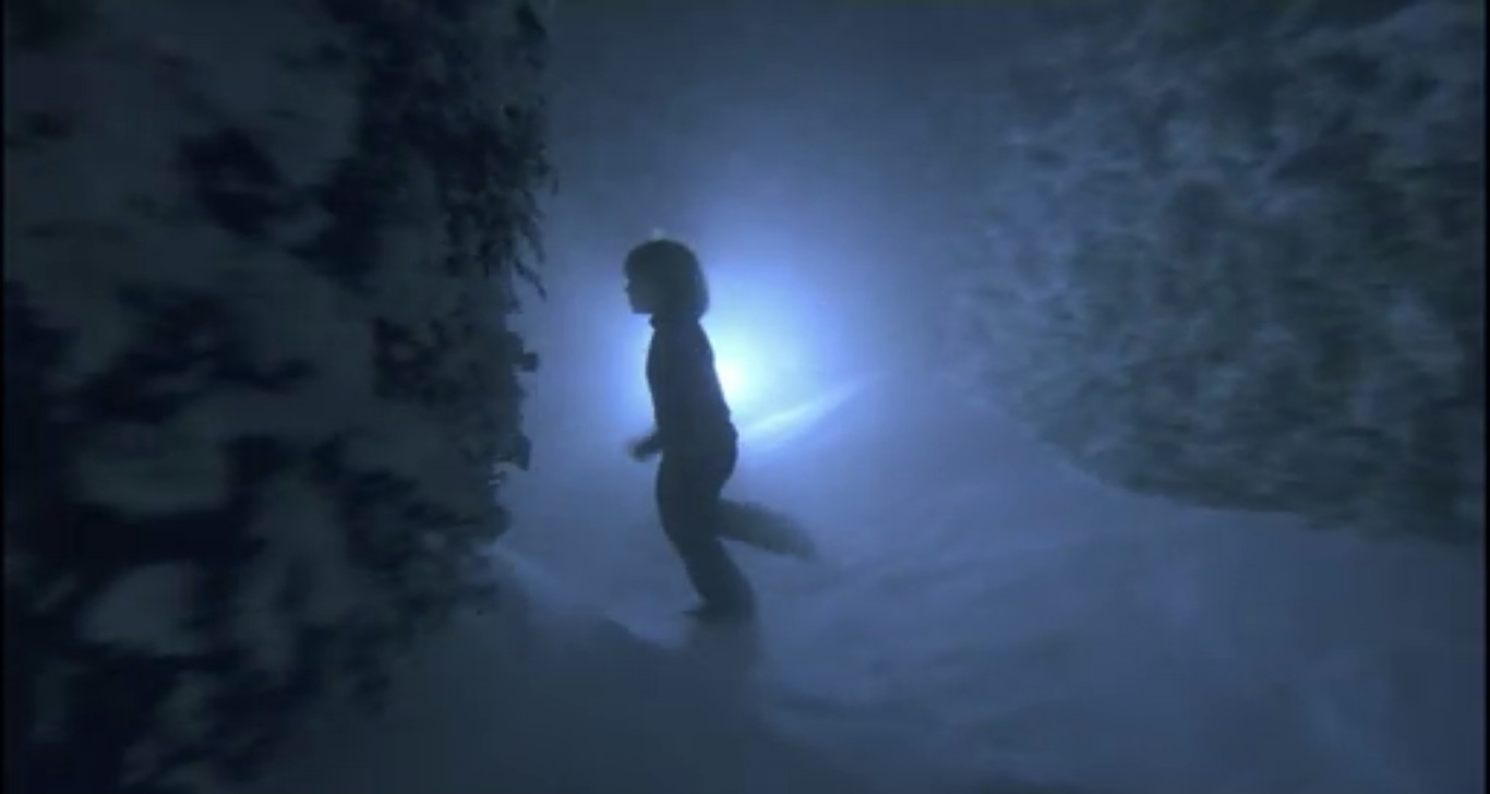 The Overlook's snowy maze in <em>The Shining</em>