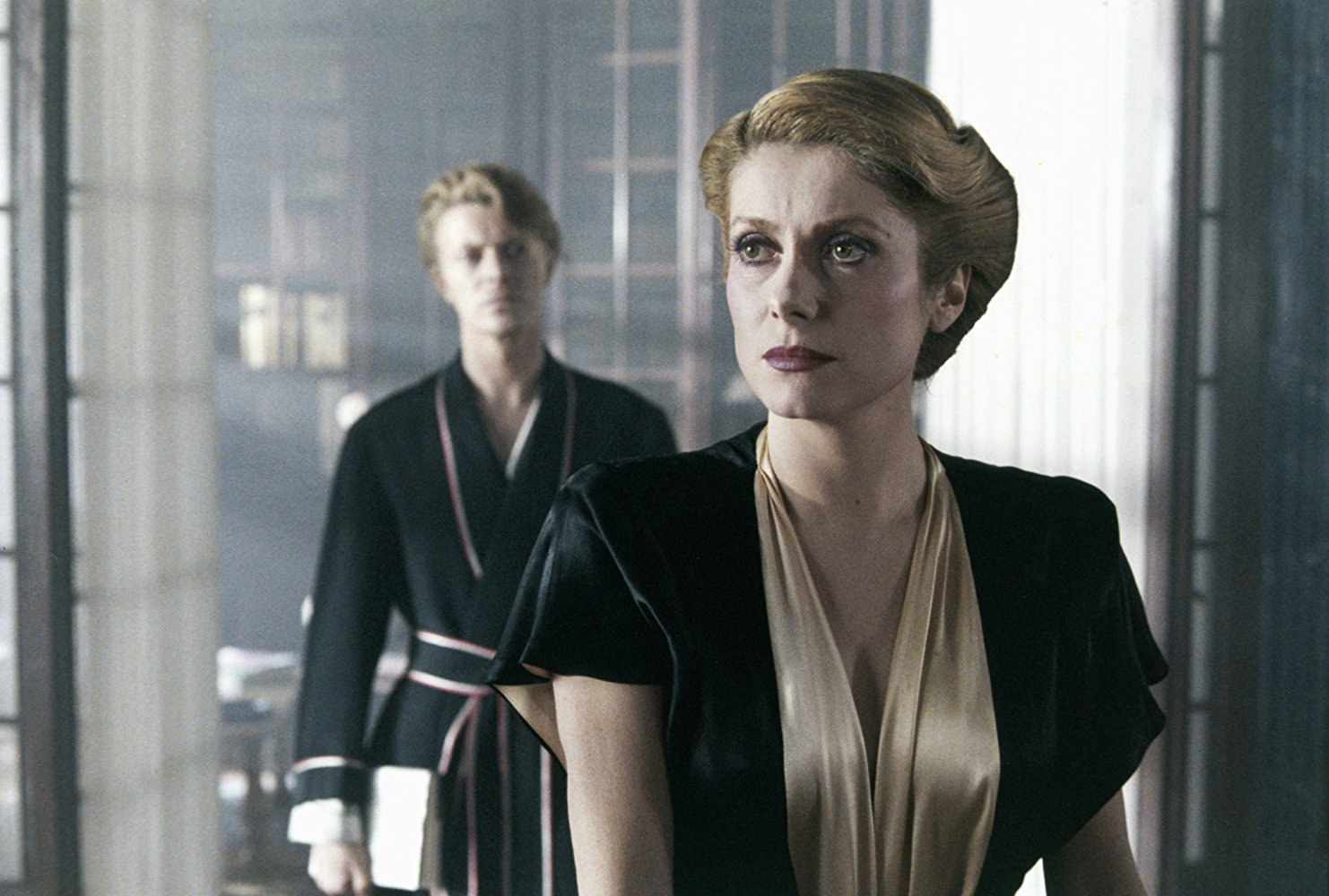 David Bowie and Catherine Deneuve in <em>The Hunger</em>