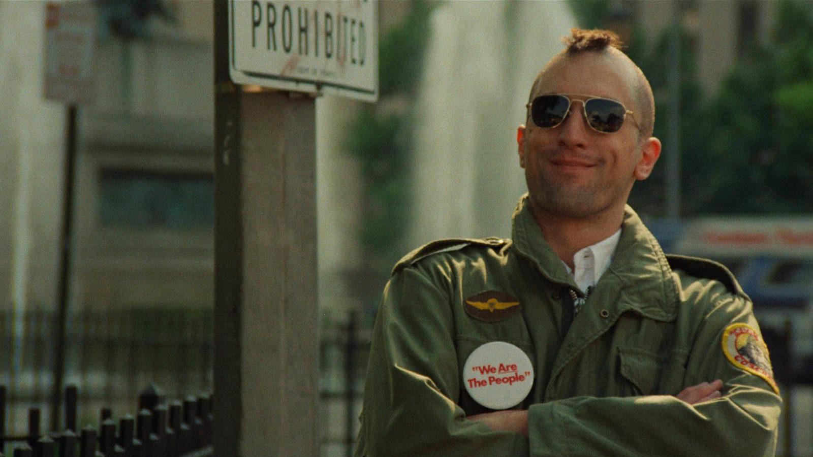 Robert De Niro in <em>Taxi Driver</em>