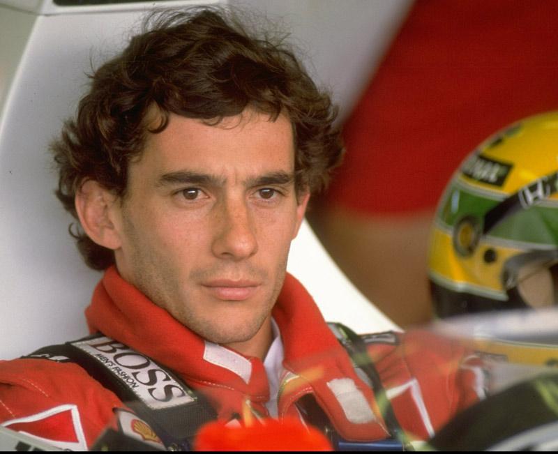 Ayrton Senna in <em>Senna</em>