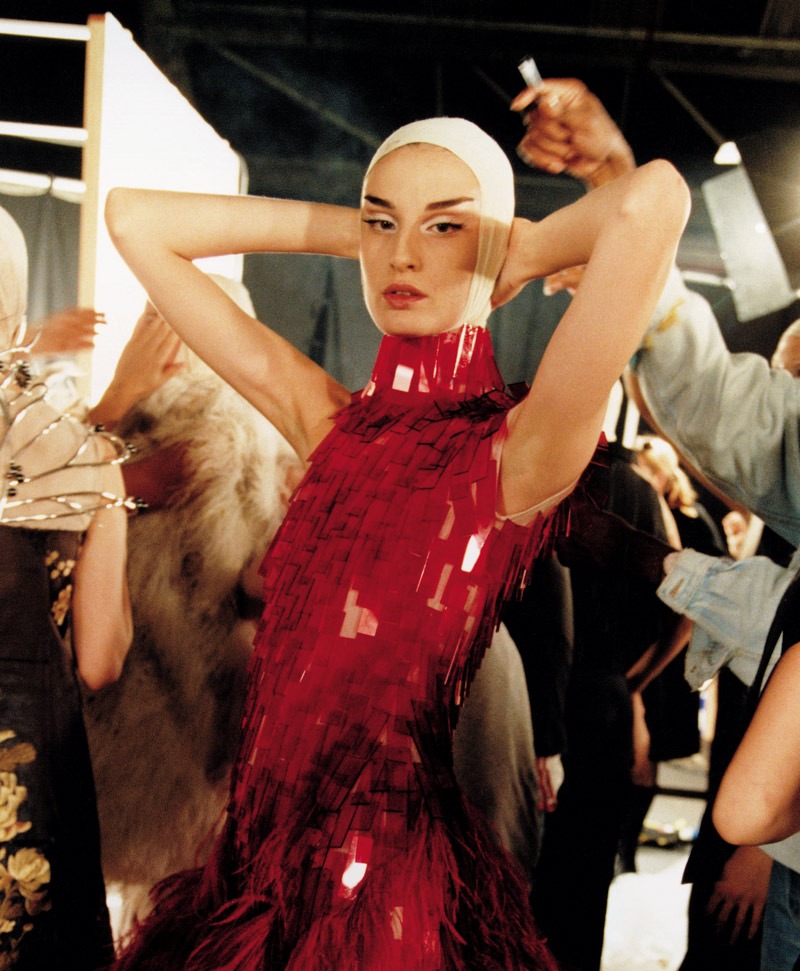 "Erin O'Connor in ""Voss"""