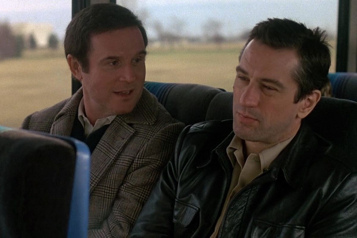 Charles Grodin and Robert De Niro make a connection in <em>Midnight Run</em>