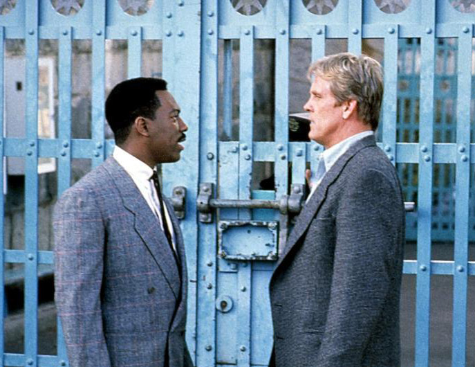 Eddie Murphy and Nick Nolte escape the clichés of the buddy film in <em>48 Hrs.</em>