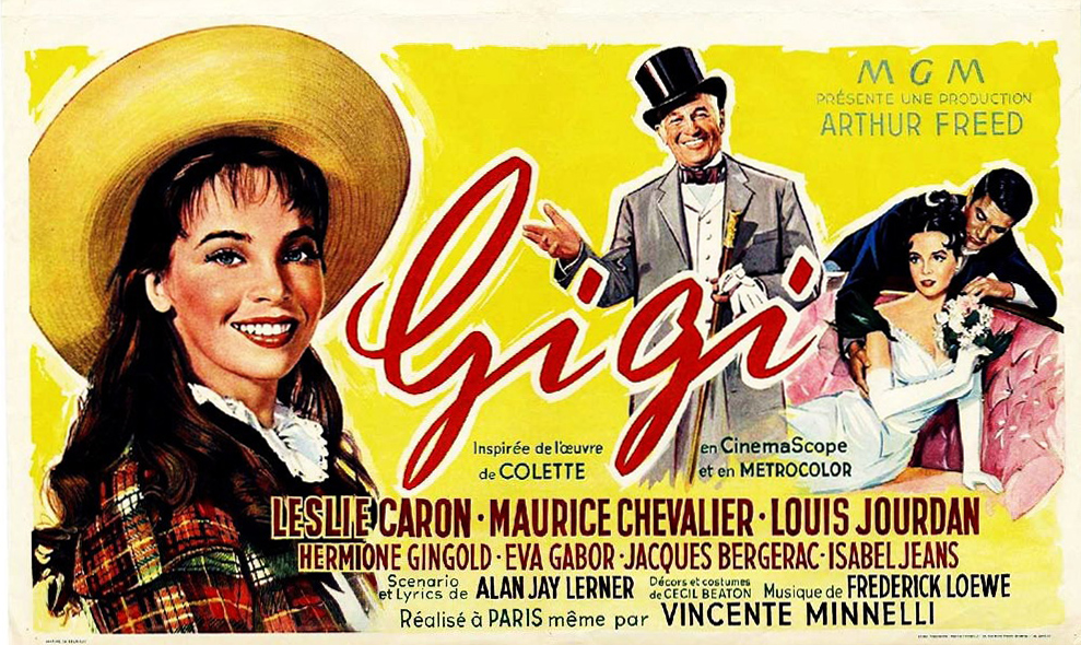 The French poster for <em>Gigi</em>