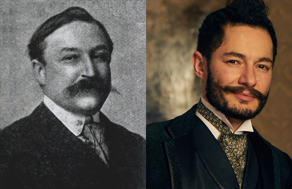 Jake Graf (r) as Gaston De Caillavet