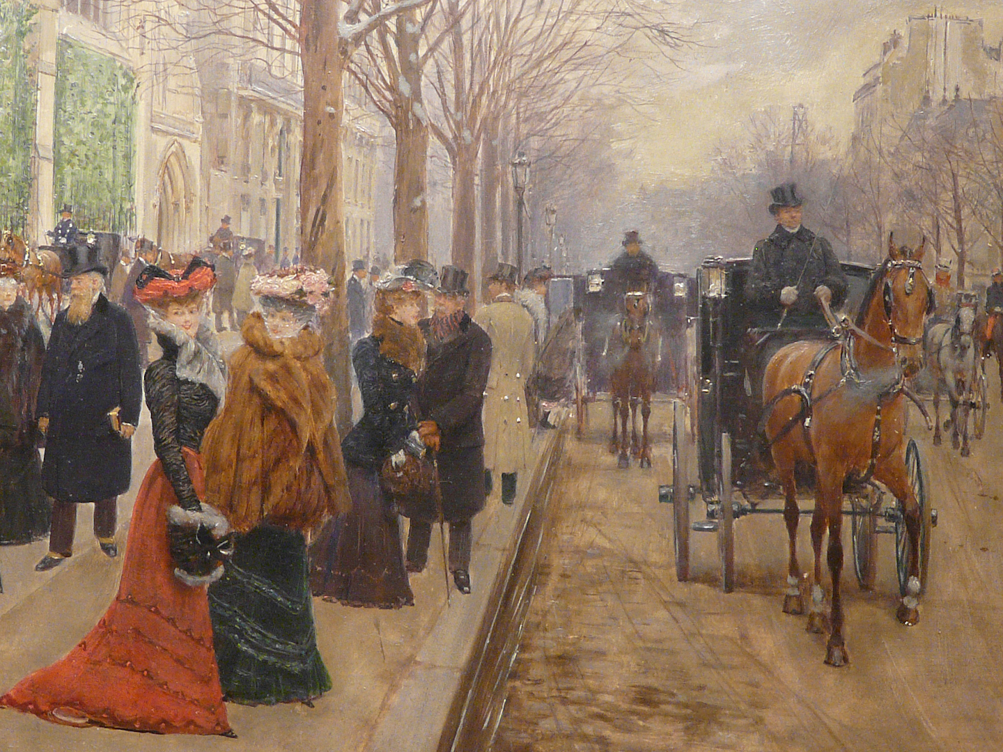 A detail from Jean Georges Béraud's