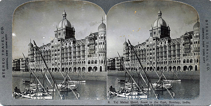 A majestic touristic attraction in 1908