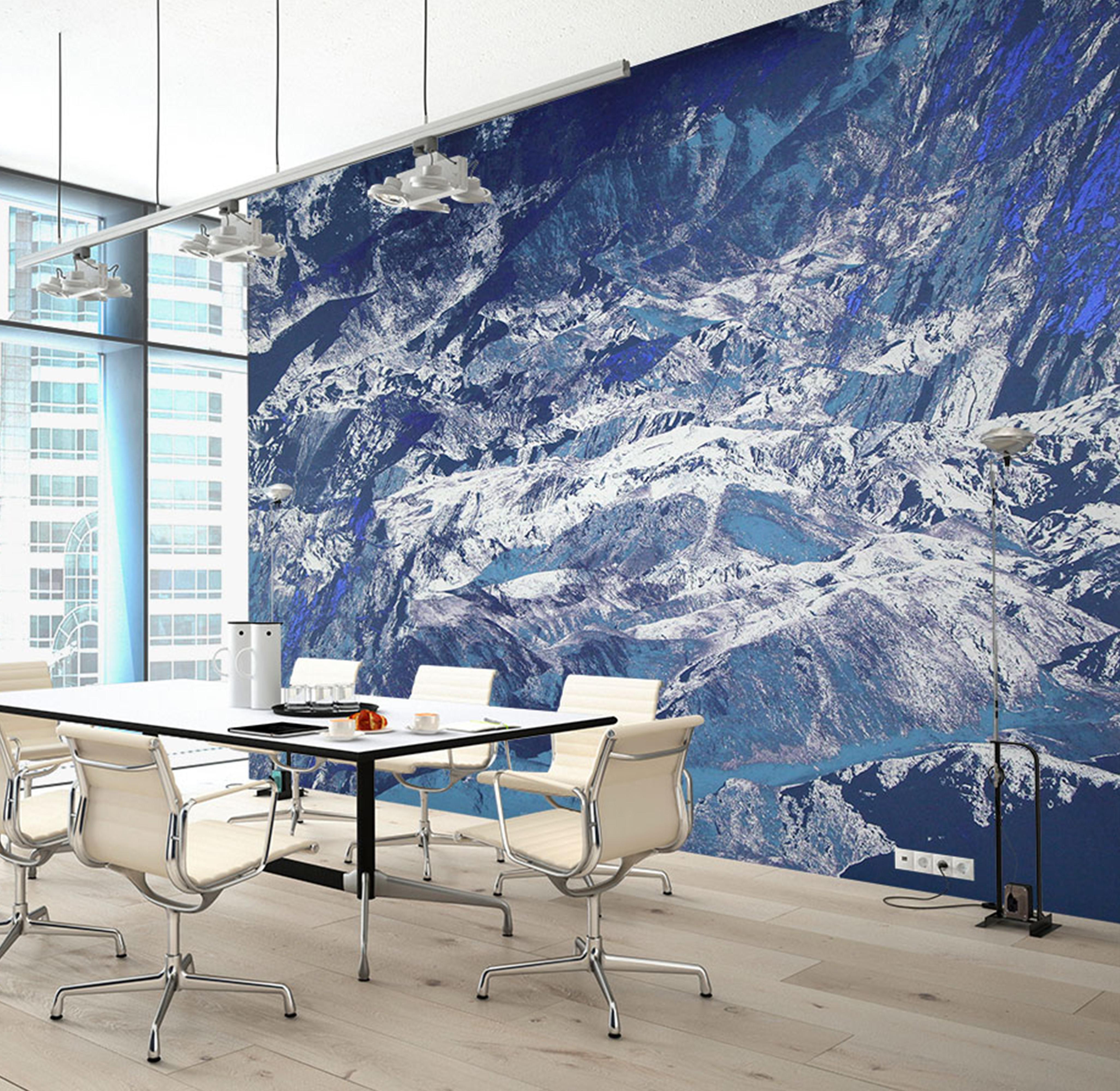 Blog How To Use Custom Murals In Your Office To Enhance - Custom murals from photos