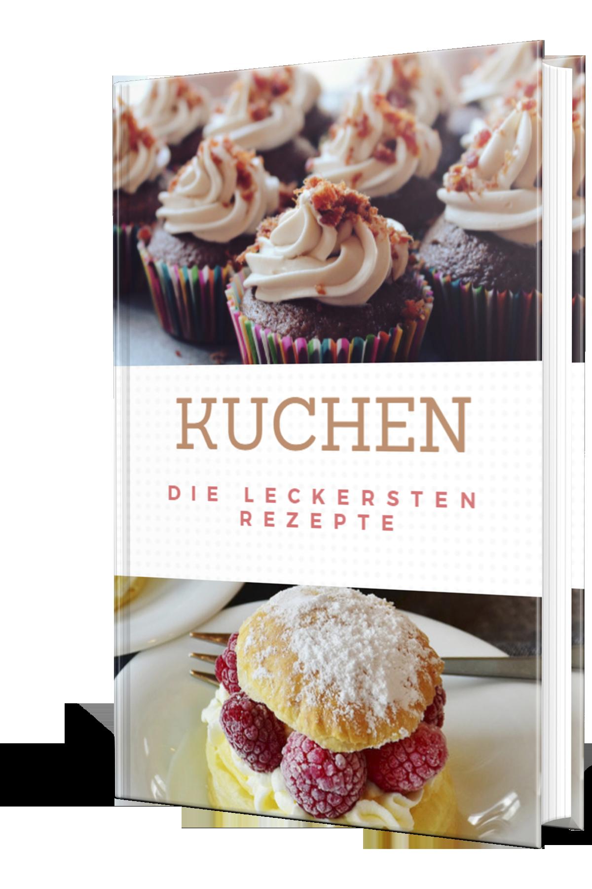 """E Book """"Kuchen Die leckersten Rezepte"""" – Geld online verdienen mit eigenem fertigen E Book"""