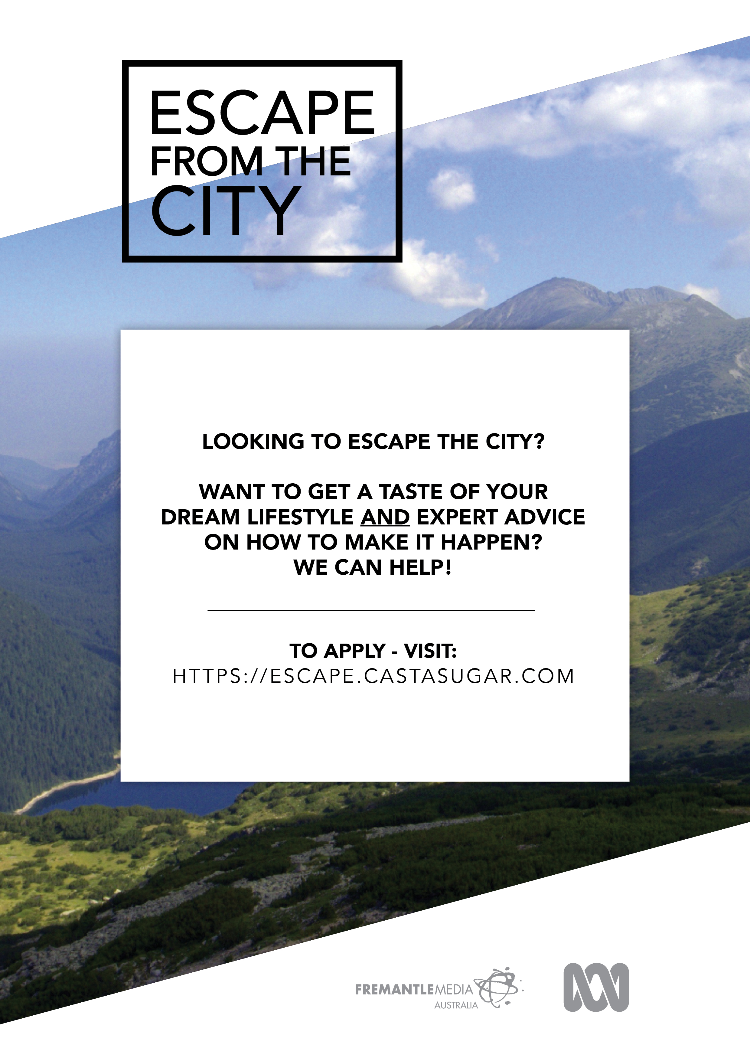 Are you looking to Escape from the City?