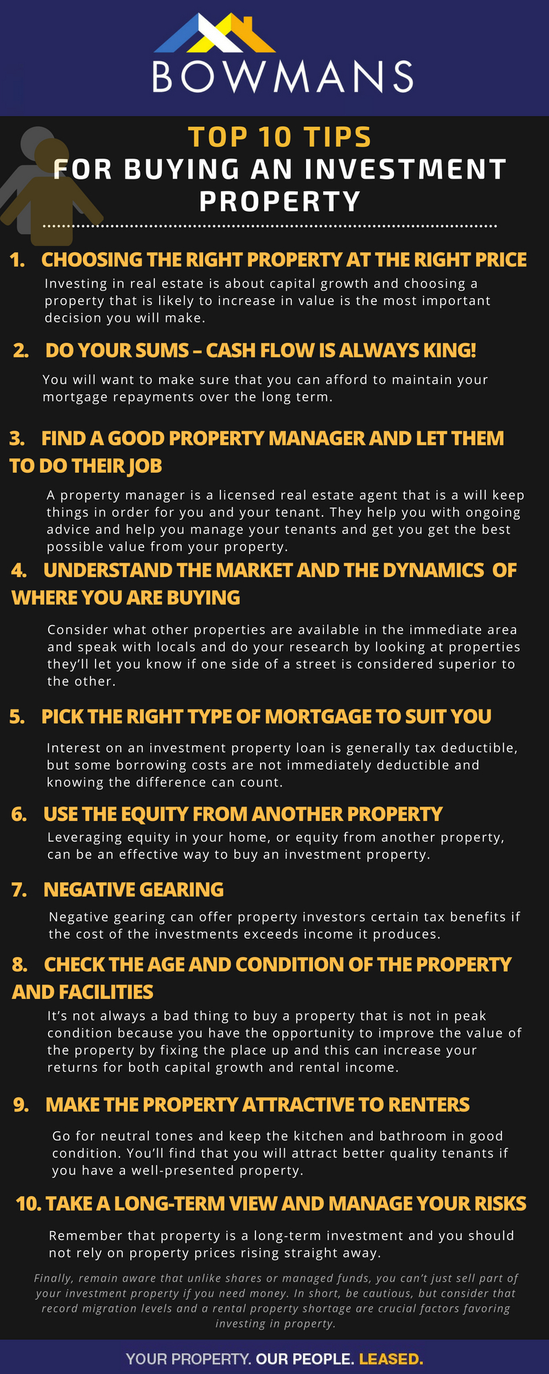 Top 10 Tips for Buying an Investment Property
