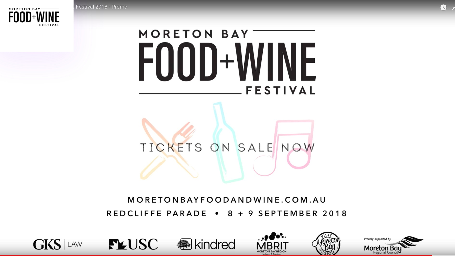 Things to do – Moreton Bay Food & Wine Festival