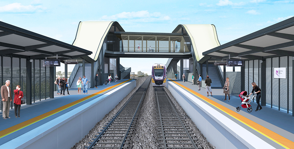 Cobblebank Train Station Designs Revealed