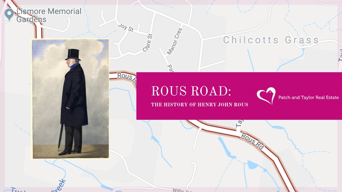 ROUS ROAD: The History of HENRY JOHN ROUS