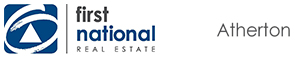 First National Real Estate Atherton logo
