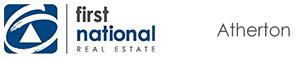 First National Real Estate Atherton logo