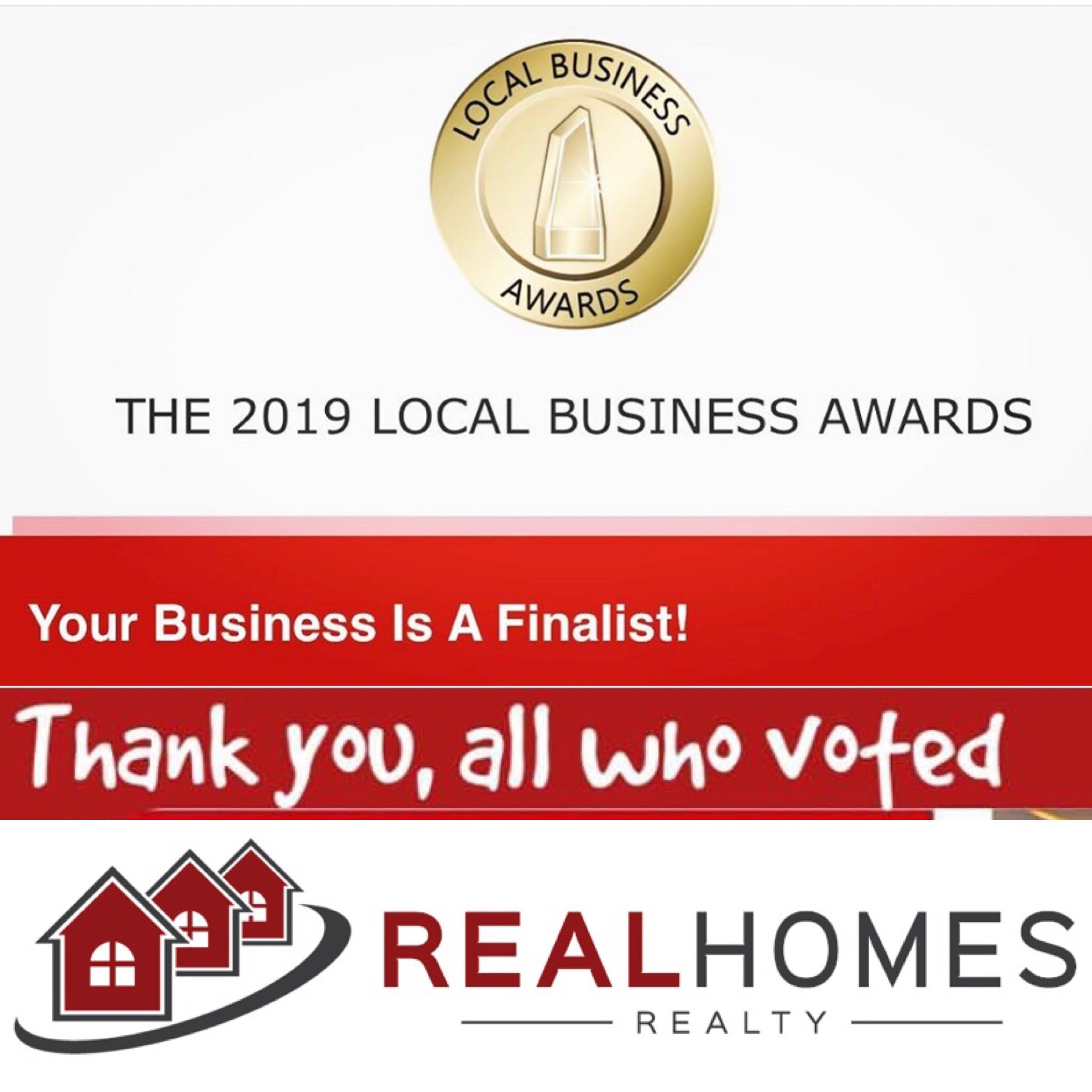 Local Business Award Finalist 2019