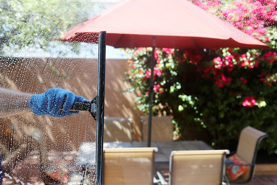 WINDOW CLEANING HACKS TO SAVE YOU TIME