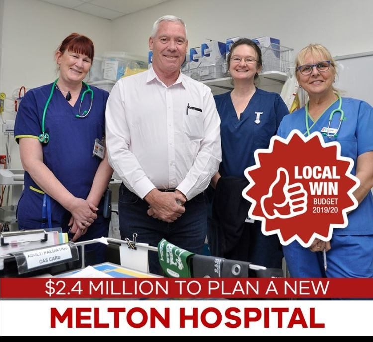 Funding Approved to Plan for the new Melton Hospital