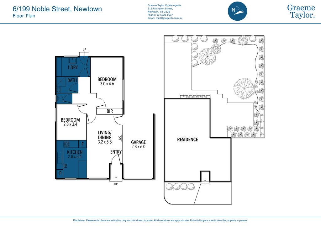 6 / 199 Noble Street, Newtown