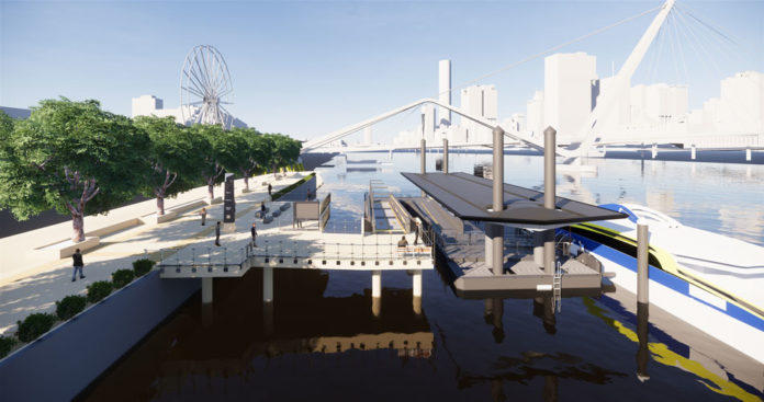 Plans Lodged for New South Bank Ferry Terminal Upgrade