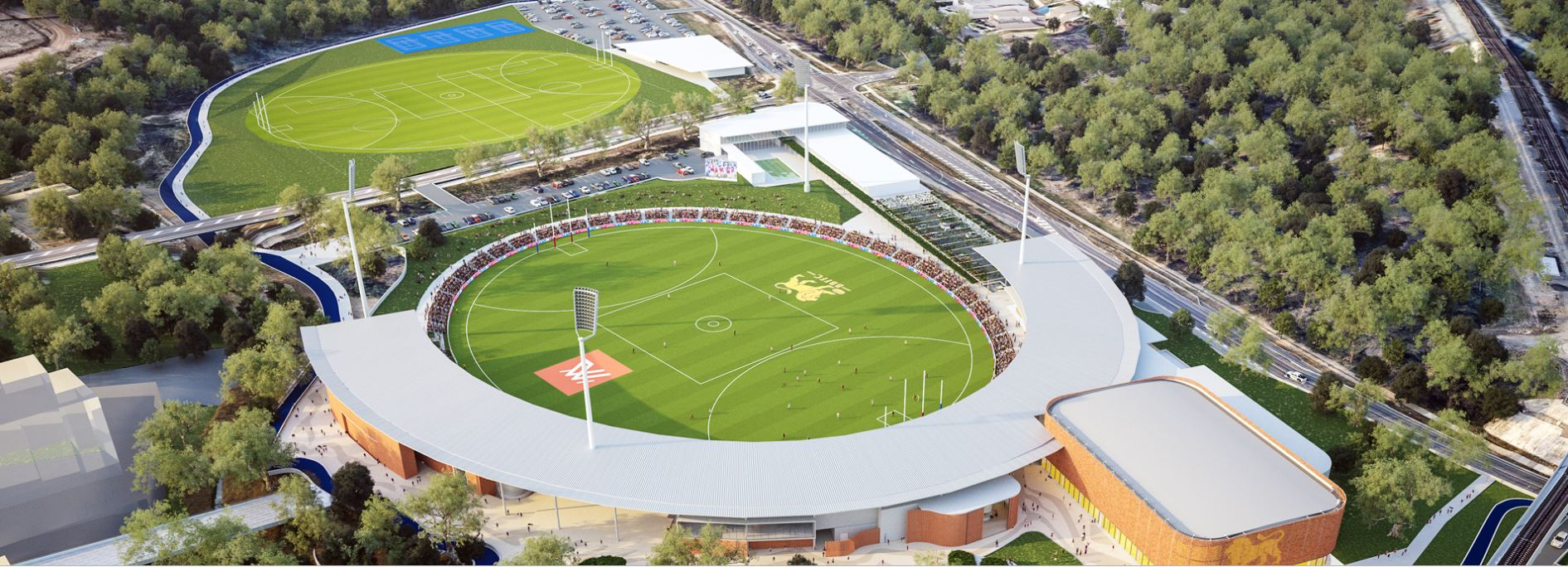 Brisbane Lions to build stadium at Springfield Central
