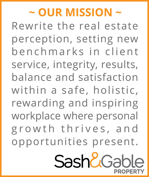 Mission Statement | Sash & Gable