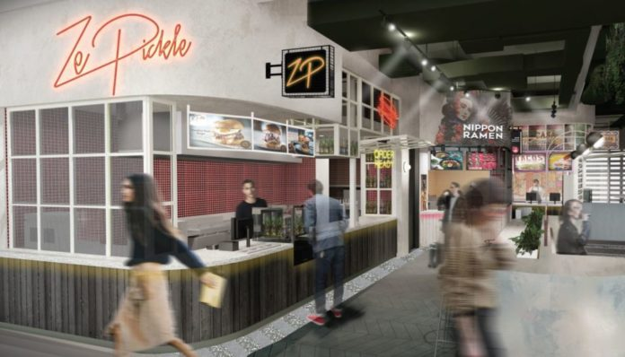 International hawker style food hall proposed for domestic airport