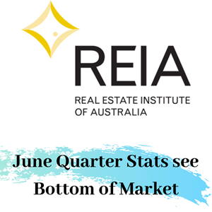 June Quarter Stats See Bottom of the Market
