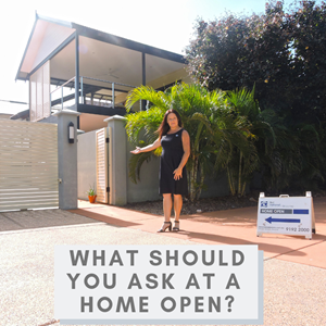 What should you ask at a home open?