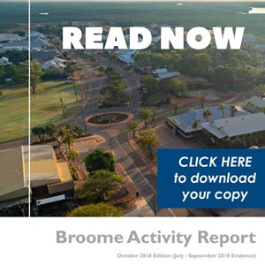 Broome Market Report Now Available (Oct edition)