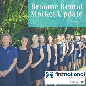 What's happening in Broome's Real Estate Market (Oct 2018 Update)