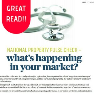 Don't take our word for it - read what North West Finance has to say about the market