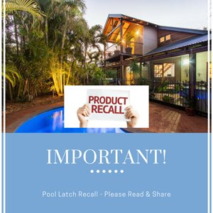 Recall for Pool Latch - Please Read