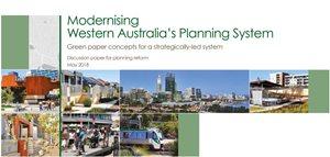 Modernising Western Australia's Planning System