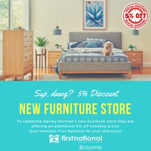Have you heard? New furniture store in town
