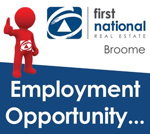 Broome Full Time Employment Opportunity