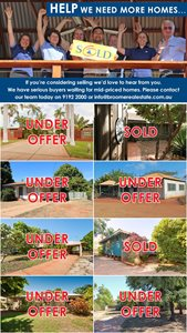 Mid Range Homes Wanted to Sell