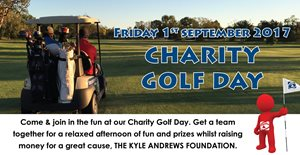 Golf Day Fun Raising Money for Kyle Andrews Foundation