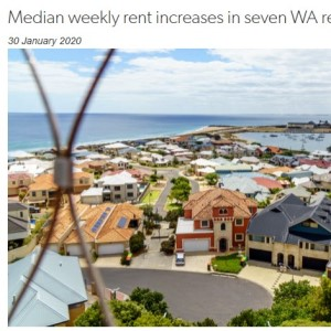 Rents increase in seven regional centres