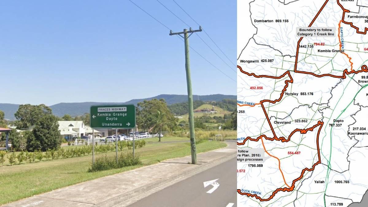 Bye-bye Kembla Grange? The three Illawarra suburbs set for a name change