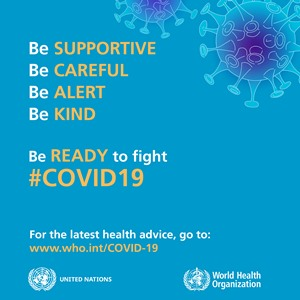 IMPORTANT UPDATE - Coronavirus / COVID-19