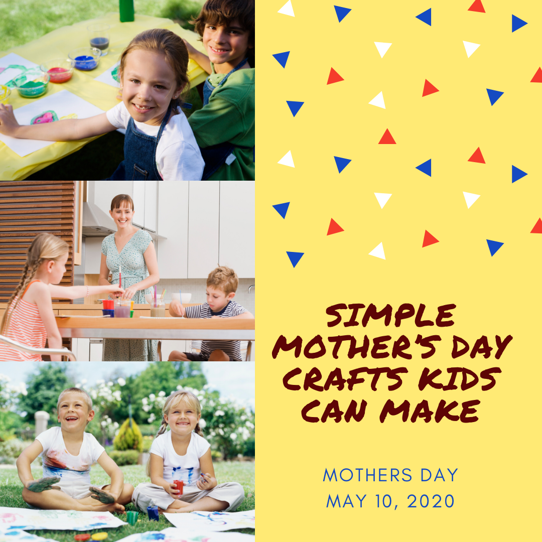 Simple Mother's Day Crafts Kids Can Make