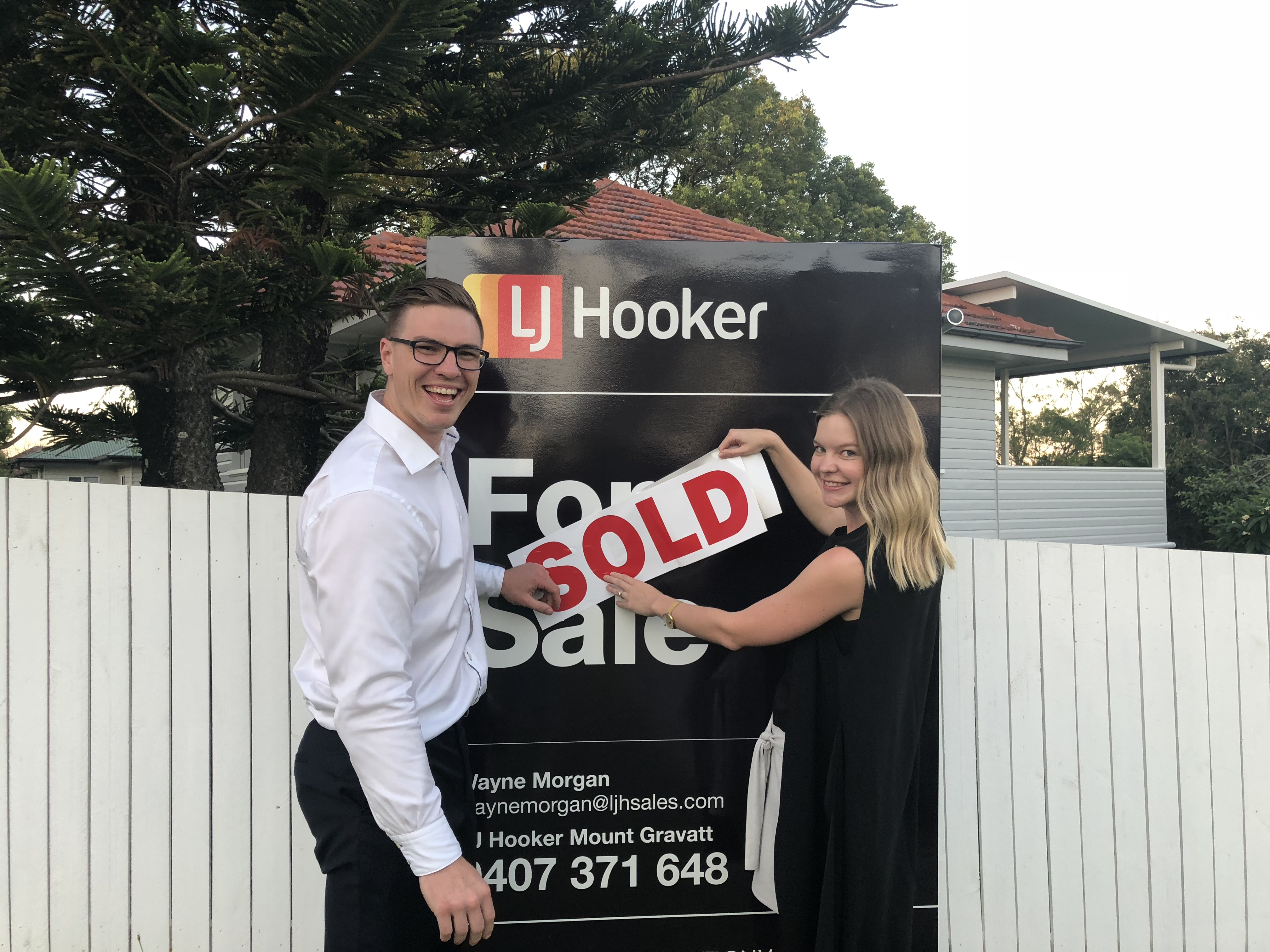 Above and beyond to sell our property for a record price!