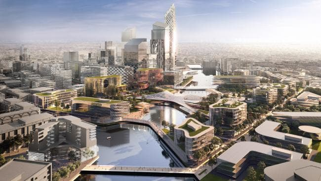 TECH GIANTS PUSH FOR PIECE OF $30BN 'SUPER CITY' IN MELBOURNE'S WEST