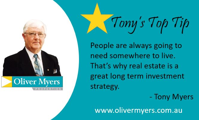 Tony's Top Tip - somewhere to live