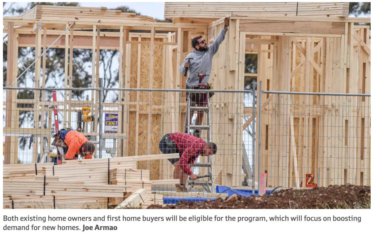 New home buyers to get cash grants! (Minimum, $20,000)