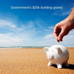 Government's $25k building grants
