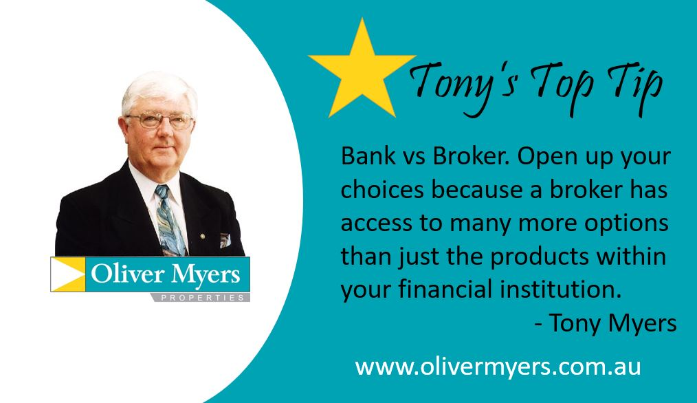 Tony's Top Tip - Bank vs Broker