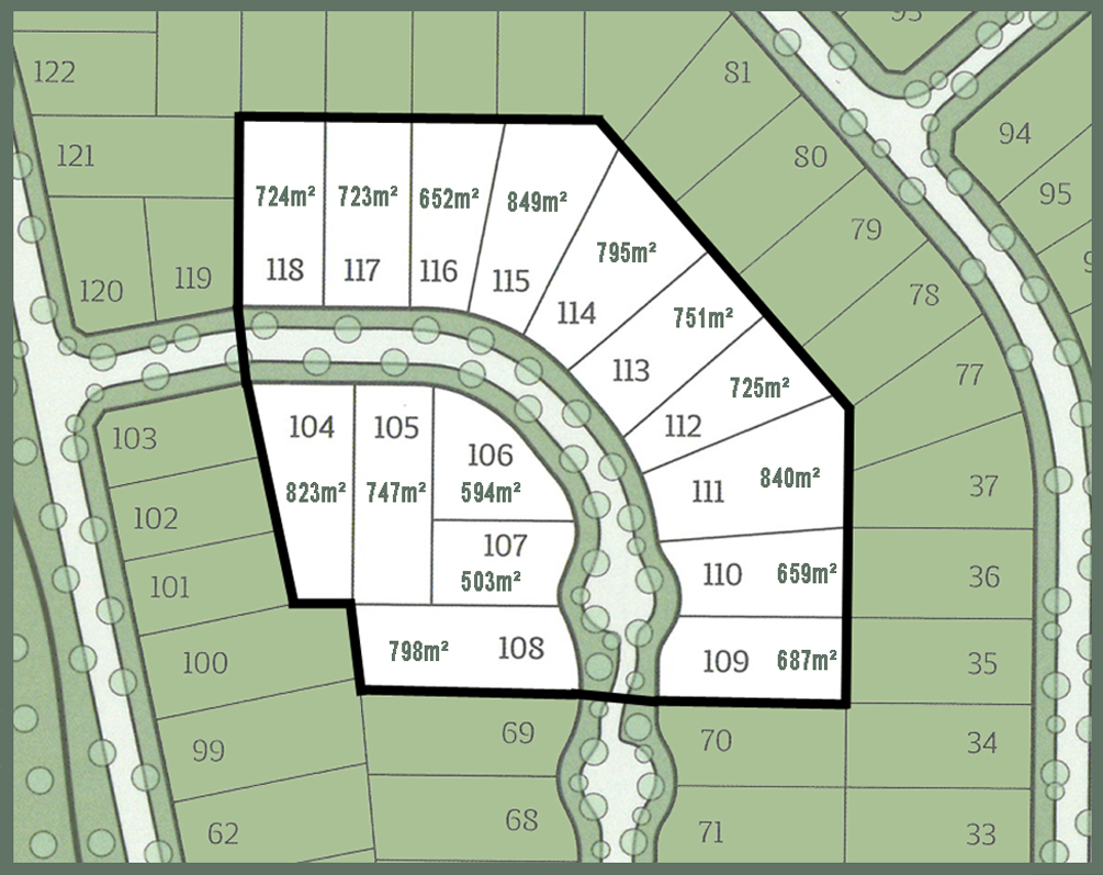 Selling fast - Stage 4 of Yinnar's newest land release.